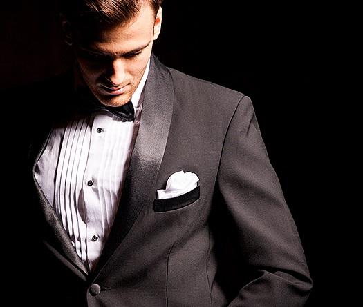 Różne kroje garniturów męskich